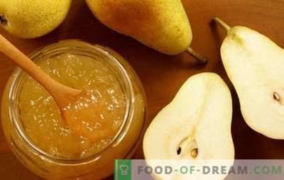 Rețete noi și tradiționale de jeleu de pere. Friptură de pară delicată cu gelatină pentru iarnă, fără zahăr, deserturi originale cu un gust neobișnuit