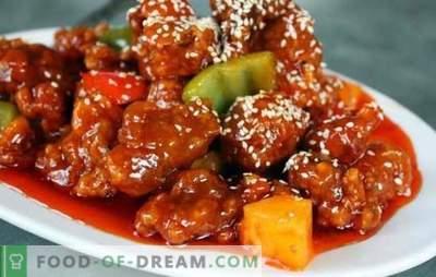 Retete dovedite de carne de porc coreeană pentru iubitorii picante. Orice fel de mâncare este bună cu carnea de porc coreeană