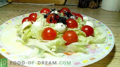 20 cele mai bune retete de salata de varza chinezeasca, reguli de gatit