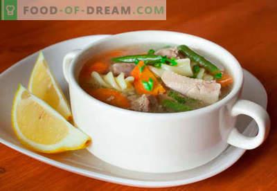 Rețete cu supe turceste. Cum să gătești în mod corespunzător și gustos supă de curcan.