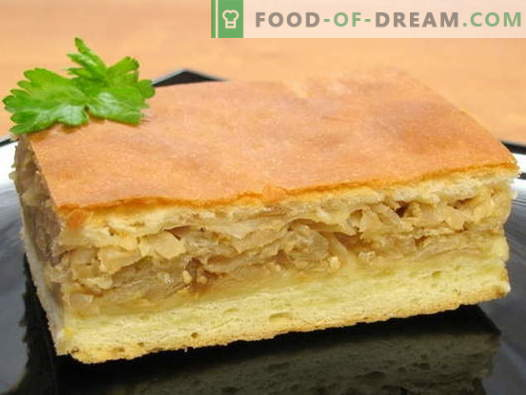 Placinta de varza - cele mai bune retete. Cum să gătești plăcinte de varză și gustoase.