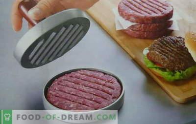 Burgeri pentru hamburgeri - rețete de la canadian la hawaiian. Bucatele de hamburger suculentă și crocantă, rețetele nu pot fi luate în considerare