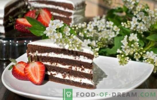 Bird-cherry cake - a fragrant Siberian dessert! Recipes for various bird cherry cakes with milk, sour cream, yogurt and jam