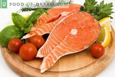 Salmon - cele mai bune retete. Mod de somon corect și gustos.