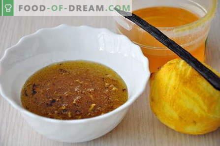 Sos de miere - cele mai bune rețete. Cum să gătești în mod corect și gustos sos de miere.