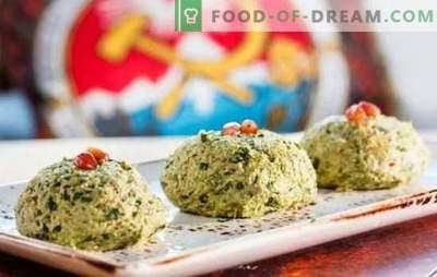 Gustări georgiene - o lume cu minunate arome! Rețete de gustări tradiționale georgiene din spanac, varză, vinete