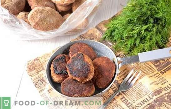 Cum se îngheață carne de vită cu pui: preparate utile pentru utilizare ulterioară. Reteta foto-rece a chiftelor-semifabricate: de la conopidă la congelator
