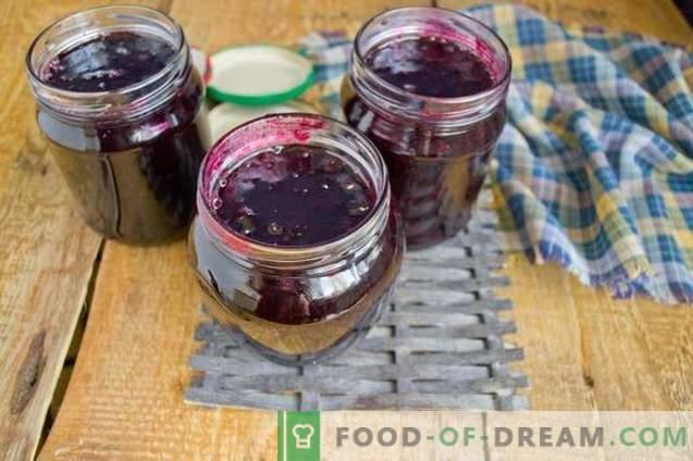 Marmelade aus schwarzen Johannisbeeren - einfach, lecker, nützlich!