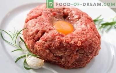 Ce să gătești rapid pentru cină din carne tocată: feluri de mâncare principale, produse de patiserie. Descriere detaliată: cum să gătești rapid o cină de tocat