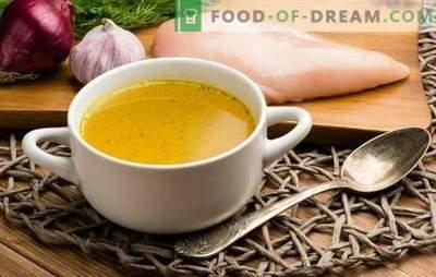 Cât de mult să gătesc supa de pui? Ce se poate face din bulionul de pui aromat și cum se gătește