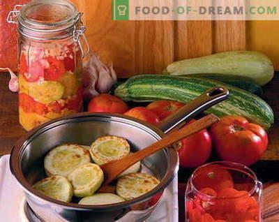 Salate conservate - cele mai bune rețete. Cum să gătești în mod corespunzător și gustoase salate de conserve.