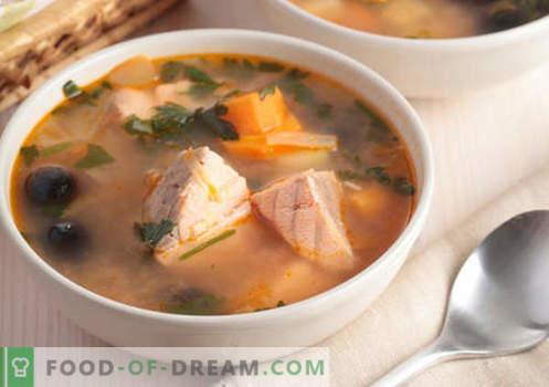 Sosuri de somon roz - retete dovedite. Cum să gătești în mod adecvat și gustos supa de somon roz.