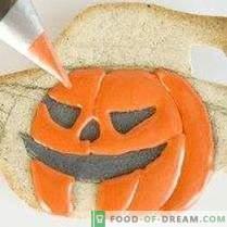 Cookie-urile de dovleac Jack Halloween