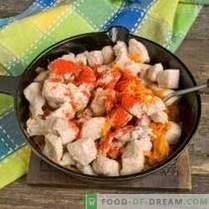Gulaș de porc cu sos