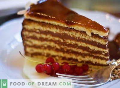 Tort de la tort - cele mai bune rețete. Cum să faci bine și gustos să faci un tort de la tort.