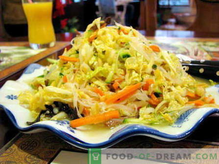 Salata Peking - cele mai bune retete. Cum să gătești bine și să gătești salata Peking.