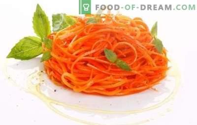 Morcovi cu usturoi: obișnuit, rapid și cât mai util posibil. Rețete pentru iarnă, feluri de mâncare și salate de morcov cu usturoi