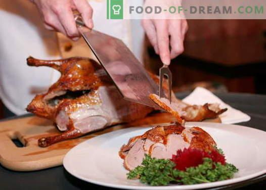 Peking Duck - cele mai bune retete. Cum să gătești în mod corespunzător și gustos rață Peking.
