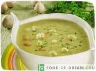 Supă de conopidă.