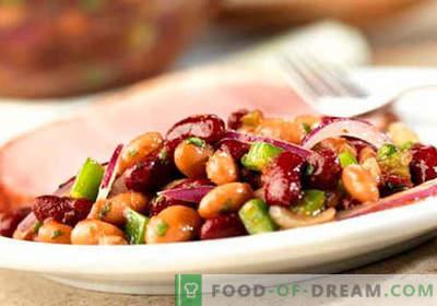 Salata de fasole rosie - Retete dovedite. Cum să gătești o salată de fasole roșie.