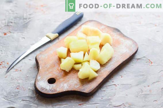 Pâine delicioasă de pepene galben cu mere și grapefruit
