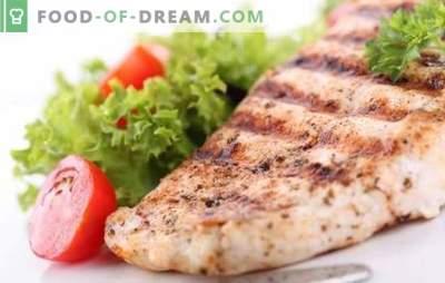 Peito de frango - um feriado de sabor dietético. Métodos de cozinhar delicioso peito de frango