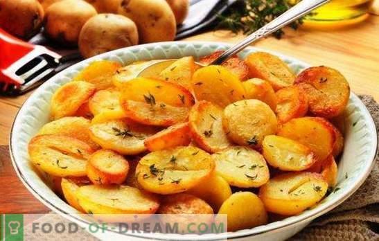 Cartofii prăjiți într-un aragaz lent: crocant, parfumat. Cele mai bune retete pentru cartofi prăjiți într-un aragaz lent, cu ceapă, ciuperci, usturoi