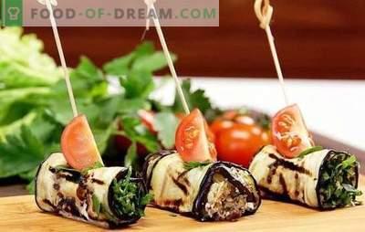 Vinete roșii cu brânză și usturoi - delicios! Cele mai bune idei pentru roșii de vinete cu brânză și usturoi