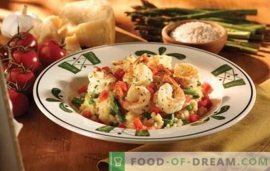 Risotto de casă - un gust al Italiei cu mâinile tale. Rețete, secrete și sfaturi pentru gurmanzi: cum să gătești risotto la domiciliu