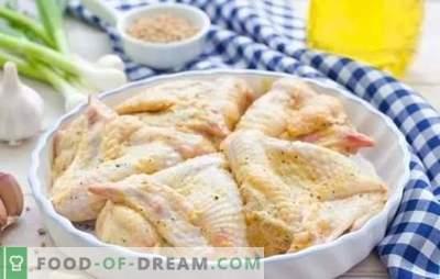 Aripi în maioneză cu sosuri diferite. Rapid, gustos, festiv, intotdeauna intr-un mod nou - retete de aripi de pui in maioneza