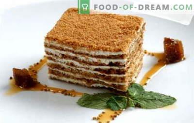 Tort de miere clasic - o rețetă pentru tortul preferat al tuturor. Retete clasice de tort de miere cu lapte condensat, smântână, cremă