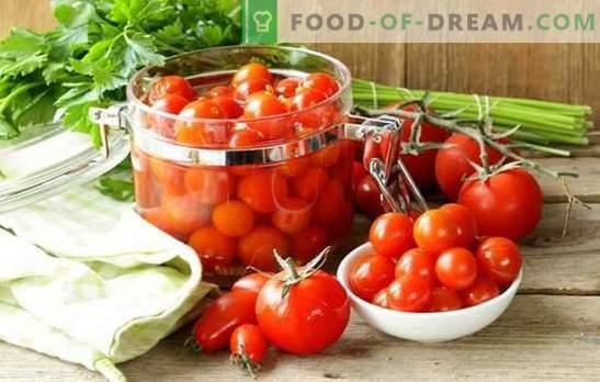 Pentru a pregăti roșiile pentru iarna fără gătit - este dificil? Cele mai bune retete de roșii delicioase pentru iarnă fără gătit