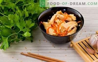 Asparagus de soia - rețete pentru aperitive și mâncăruri fierbinți. Rețete de soia de sparanghel pentru fiecare zi: cu orez, frunchoza, pui, ciuperci