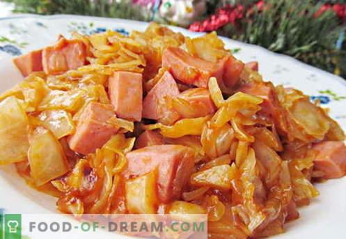 Varza prăjită - cele mai bune rețete. Cum să gătești în mod corespunzător și gustos varză prăjită.