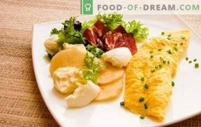 Franse omelet - buitengewoon sappig! Heerlijke Franse omeletten volgens het klassieke recept en met vullingen