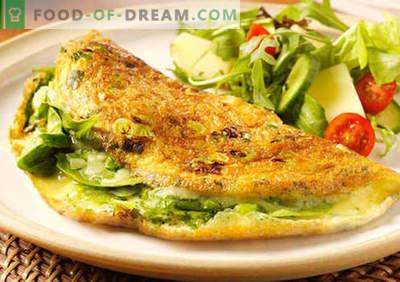 Ouă amestecate - rețete dovedite. Cum să gătești și să faci o omletă.