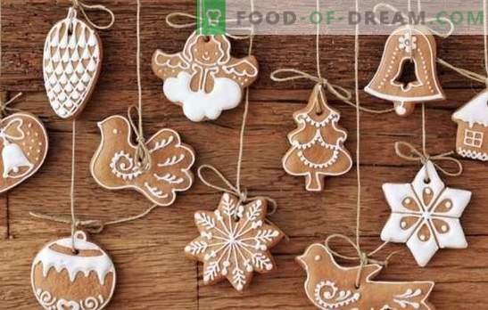Rețetele bunicii pentru cookie-urile de Crăciun cu aluat de pâine. Gatit Cookies tradiționale de Crăciun