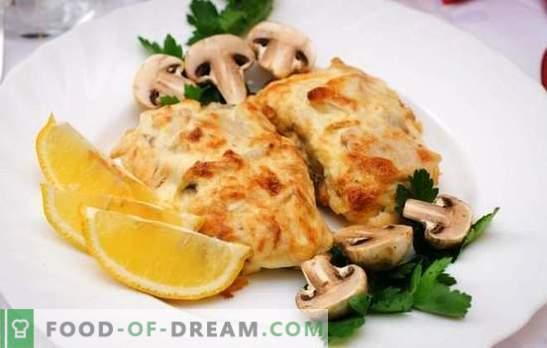 Codul cu brânză este un pește delicat sub o crustă apetisantă. Rețete simple și originale de brânză de cod
