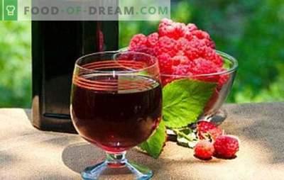 Naminis aviečių vynas - galingas aromatas! Užpildykite sandėliuką su aviečių namų vynais: geriausiais receptais