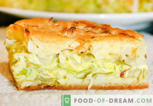 Kulebyaka cu varza - cele mai bune retete. Cum să gătești plăcintă cu gălbenele în mod corespunzător și gustos.
