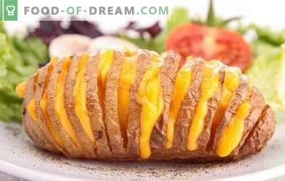 Cartofii friși în cuptor cu brânză sunt un fel de mâncare incredibil de gustos. Cele mai bune retete pentru cartofi copți în cuptor cu brânză