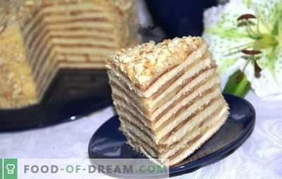 Tortul într-o tigaie cu lapte condensat este un zeu! Rețete pentru prăjituri de miere, smântână, ciocolată și brânză de vaci într-o tavă cu lapte condensat