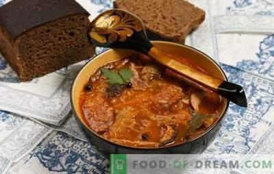 Greseli tipice în supă de gătit. De ce supa gust și urât?