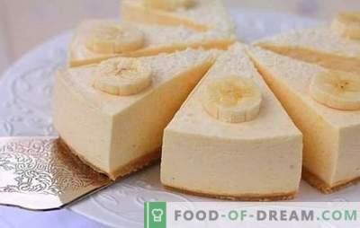 Banana soufflé - un desert tulbure cu o aroma magica! Rețete simple pentru sufle de banane cu brânză de vaci, grâu, ciocolată