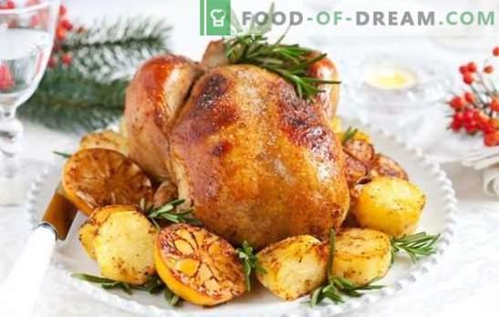 Cartofi Turcia: O masă versatilă pentru o masă festivă și o cină de familie. Modalități de gătit curcan cu cartofi