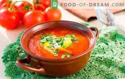 Supă Kharcho: gătită în funcție de rețete simple. Subtilități și secrete ale supă de gătit kharcho: rețete simple cu carne de vită, miel, pui