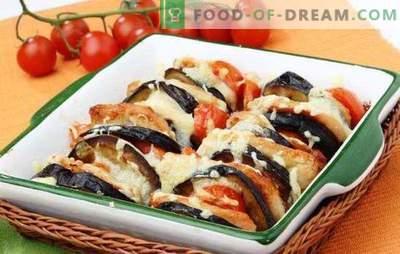 Legume cu brânză - asigurați-vă că gătiți! Legume cu brânză, coapte în cuptor cu pui, carne, ciuperci, orez