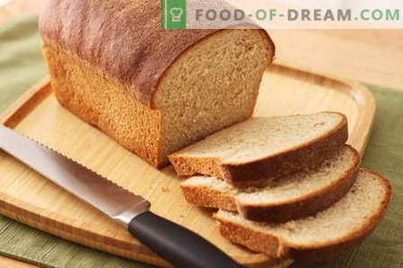 Duona duonos gamykloje - geriausi receptai. Kaip kepti duoną namuose.