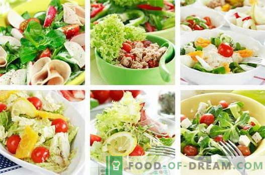 Salatele de pui sunt cele mai bune rețete. Cum să gătești salate de pui.