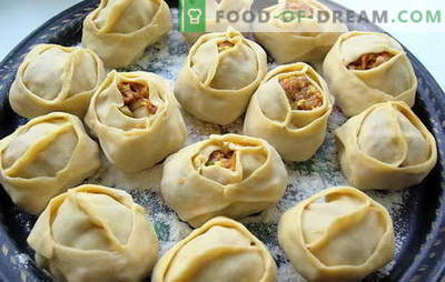 Manty with potatoes and minced meat is a Russianized dish. Recipes of different dumplings with potatoes and minced meat: ordinary and lazy